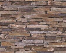 3D Optik Mauer Bruchstein Stein Steinmauer Mauerstein AS Tapeten 9142-17 914217