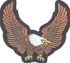 AMERICAN EAGLE UPWING USA SYMBOL/Iron On Patch,Patriotic, Biker, Retro,Military