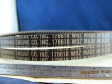 (2) 178655 Cummins Matched Set (1 set of 2) of Fan Belts MILITARY ISSUE [B4S3]