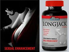 Orgasm Booster - LONGJACK 2170mg  - Male  Enhancement Formula  Pills 1B