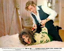 Zee & Co. Original Lobby Card Elizabeth Taylor Michael Caine Hands Tied