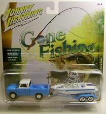1965 '65 CHEVY TRUCK WITH BOAT & TRAILER GONE FISHING JOHNNY LIGHTNING 2017