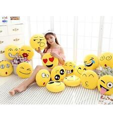 Emoji Emotion Soft Stuffed Plush Round Cushion Pillows Toy Doll Decor 10cm'
