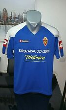 CAMISETA SHIRT VINTAGE LOTTO REAL ZARAGOZA TALLA M