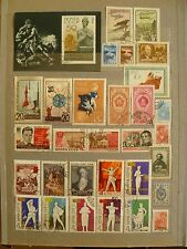 Russia, USSR, valuable stamp collection, including aluminum space set of 2.