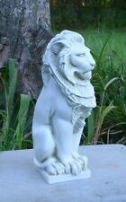 "Concrete / Plaster statue Mold 12"" Lion on base Latex rubber / fiberglass"