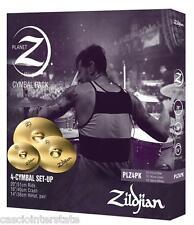 Zildjian Planet Z 4-Cymbal Box Set PLZ4PK