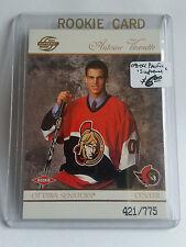 2003-04 Pacific Supreme #130 Antoine Vermette RC 421/775 : Ottawa Senators