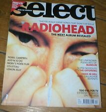 SELECT magazine Dec 2000 RADIOHEAD Belle & Sebastian Mansun PJ Harvey Offspring