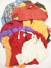 Vintage Womens Wholesale Lot x 20 Blouses/Tops/Shirts Bundle 60s/70s/80s/90s
