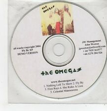 (FF538) The Omegas, Nothing Left to Show - 2004 DJ CD