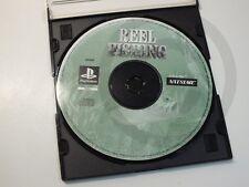 !!! PLAYSTATION PS1 SPIEL Reel Fishing NUR CD, gebraucht aber GUT !!!