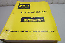 Caterpillar 666 Tractor Scraper 77F1-UP & 20G1-UP