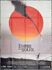 1988 EMPIRE OF THE SUN Steven Spielberg 47x63 French movie poster