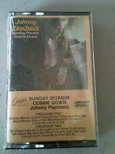 """Johnny Paycheck """"Sunday Morning Coming Down""""  Cassette"""