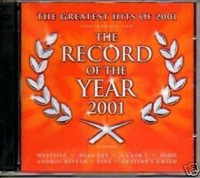 (897E) The Record Of The Year 2001 - 2 CD album