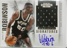 2012-13 Contenders David Robinson SP Substantial Signatures Auto Jersey #/ 25