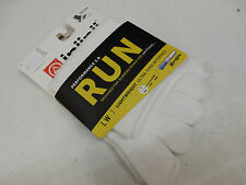 INJINJI TOE SOCKS RUN 2.0 LIGHTWEIGHT MINI CREW WHITE SIZE L