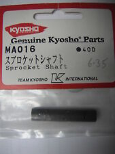 Genuine Kyosho Parts MA016 (Sprocket Shaft) for Madforce Kruiser
