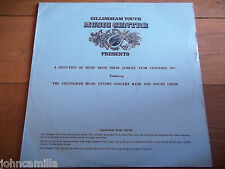 GILLINGHAM MUSIC CENTRE CONCERT BAND & YOUTH CHOIR - JUBILEE YEAR CONCERTS 1977