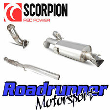 "Scorpion Corsa VXR Exhaust 3"" Turbo Back System Resonated & Sports Cat A16 10-13"