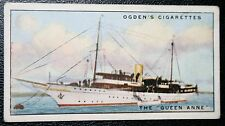 QUEEN ANNE   Luxury Motor Yacht    Original Vintage Card