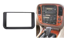 2 Din Radio DVD Stereo Frame For Lexus LX-470 Toyota LC-100 Dash Trim Kit Fascia