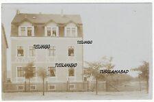 Falkenberg bei Halle ? altes Haus Gebäude Sachsen Anhalt Stempel Postkarte