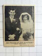 1964 D Terry, Helston Marries Miss Peartree Ludgvan