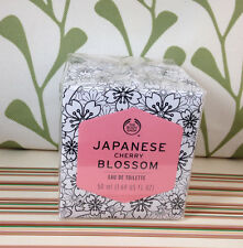 Body Shop JAPANESE CHERRY BLOSSOM Eau de Toilette EDT perfume 1.7 fl oz/50ml NEW
