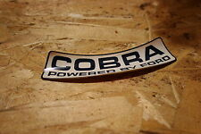 Nos 1967 Shelby GT 350 Mustang Cobra Air cleaner sticker, Very Rare!