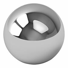 """One Large 4"""" Inch Chrome Solid Steel Bearing Ball G100"""