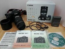 Canon EOS 50D 15.1 MP Digital SLR Camera in Box with 75-300mm Canon Lens