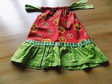 Size 18 Months - 2T Custom Hand Made Pillowcase Dress Christmas Holiday Peace