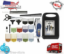 WAHL PROFESSIONAL HAIRCUT TRIMMER 20 PIECE HAIR CUT CLIPPERS KIT BARBER SET