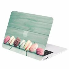 "Macaroon Graphics Rubberized Hard Case Cover for Macbook Air 13"" A1369 & A1466"