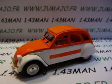 Voiture 1/43 norev citroën 2 CV n°13 SPOT blanche & orange