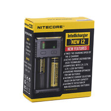 2017 NITECORE i2 Intellicharger Battery Charger Li-ion 18650 17670 NICD XNi-MH Y