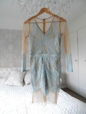 Diva Pale Blue Lace Dress, Wedding, Evening, Holiday