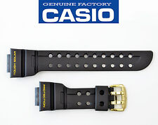 CASIO G-shock FROGMAN GWF-1000G WATCH BAND STRAP BLACK Resin GF1000G gold buckle