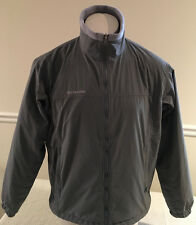 Columbia Winter Jacket Soft Shell Fleece Lined Core Interchange Gray Men's M