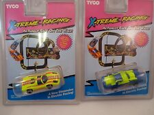 TYCO X-TREME RACING 2 PACK  !!  #6491 SKY RACER AND #6494 TURBO EXTINGUISHER