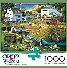 Buffalo Games Charles Wysocki: The Hound of The Baskervilles Jigsaw Puzzle (1000