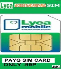 Lyca Mobile PAGO Sim Card, Fast And Free Postage,