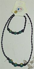 Pine Sport Oakland A's Beaded Nacklace & Bracelet Youth Size