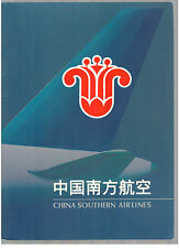 CHINA SOUTHERN AIRLINES BROCHURE SEAT MAPS CABIN & CREW PICS