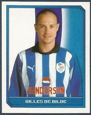 MERLIN 2000-FA PREMIER LEAGUE 2000- #377-SHEFFIELD WEDNESDAY-GILLES DE BILDE