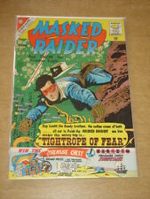 MASKED RAIDER #28 FN+ (6.5) CHARLTON COMICS FEBRUARY 1961