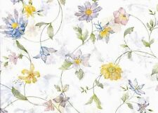 """Wildflower Tissue Paper #331 / Gift Wrap -- 10 Large sheets - 20"""" x 30"""""""