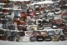 Botswana agate gemstone Rectangle Beads 18x13mm